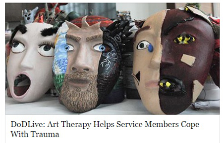 Art Therapy Helps Service Members Cope With Trauma