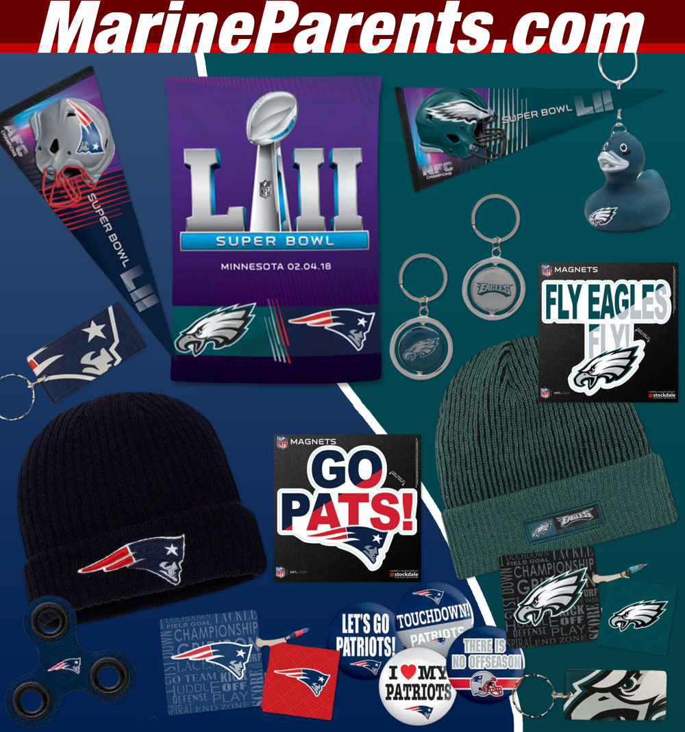 MarineParents.com Warrior Support Team Super Bowl Party
