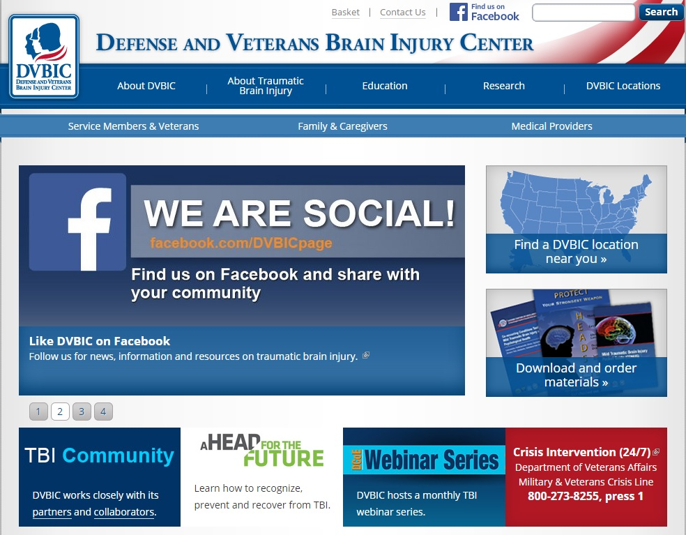Defense and Veterans Brain Injury Center