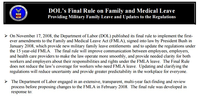 FMLA for Service Members, Caregivers, and Family Members