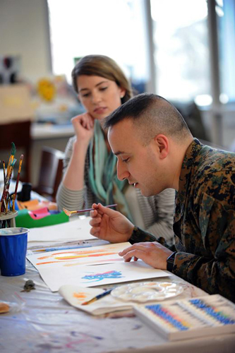 Walter Reed Focus: Art Therapy
