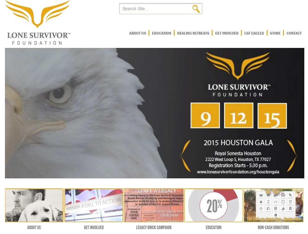 Lone Survivor Foundation Screen Shot