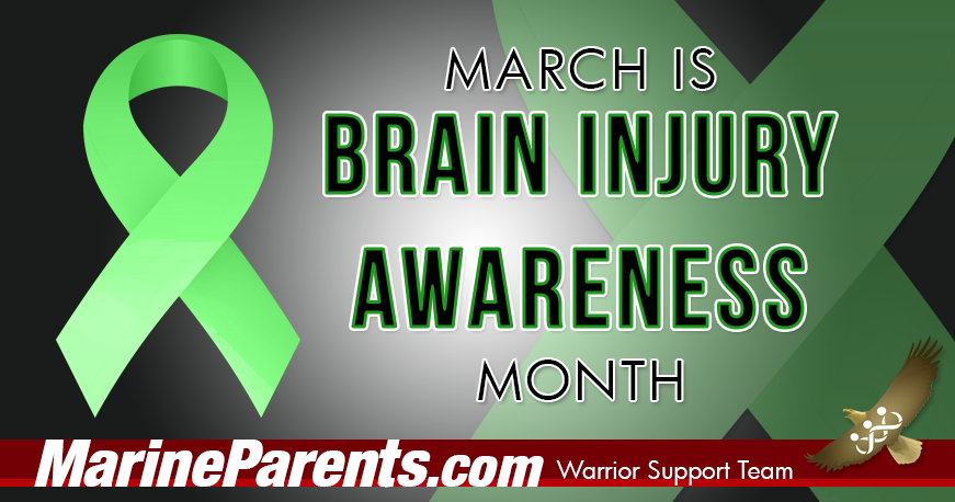 Brain Injury Awareness Month Warrior Support Team