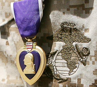 purple heart marine