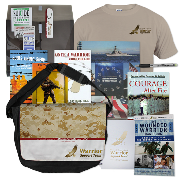 Warrior Support Team Spotlight: Warrior Reintegration Bags