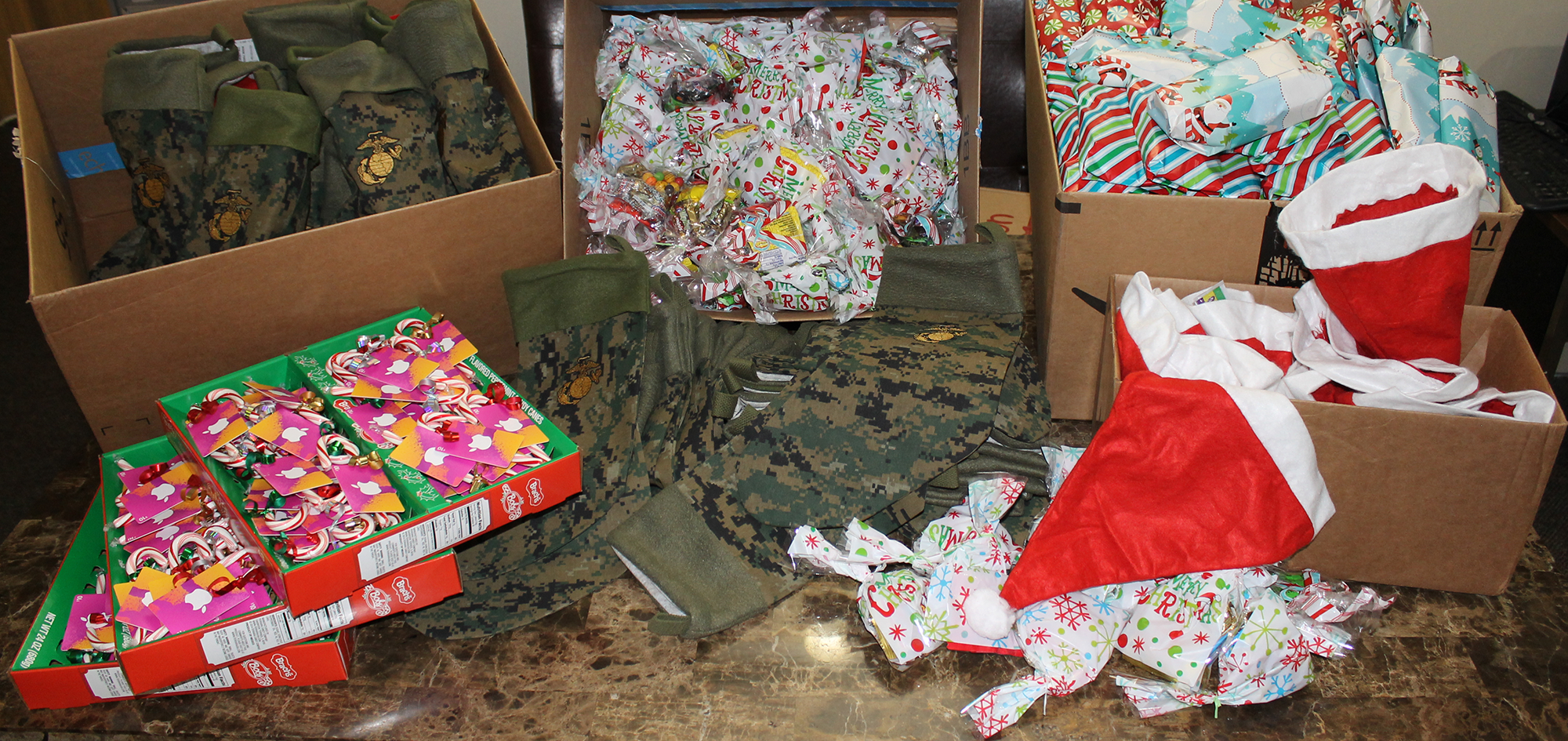 Christmas Stockings for Wounded and Recovering Warriors