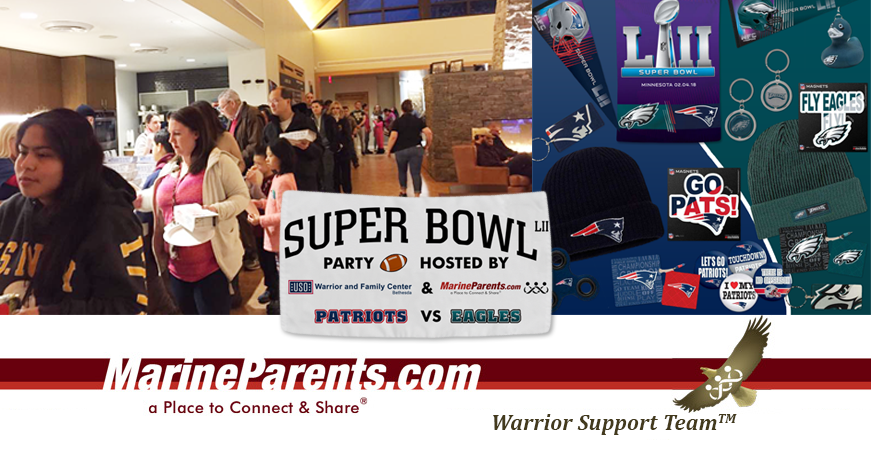 MarineParents.com Super Bowl Party Bethesda, Maryland